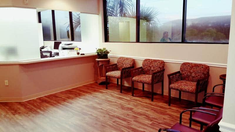 Associates in Dermatology - waiting area