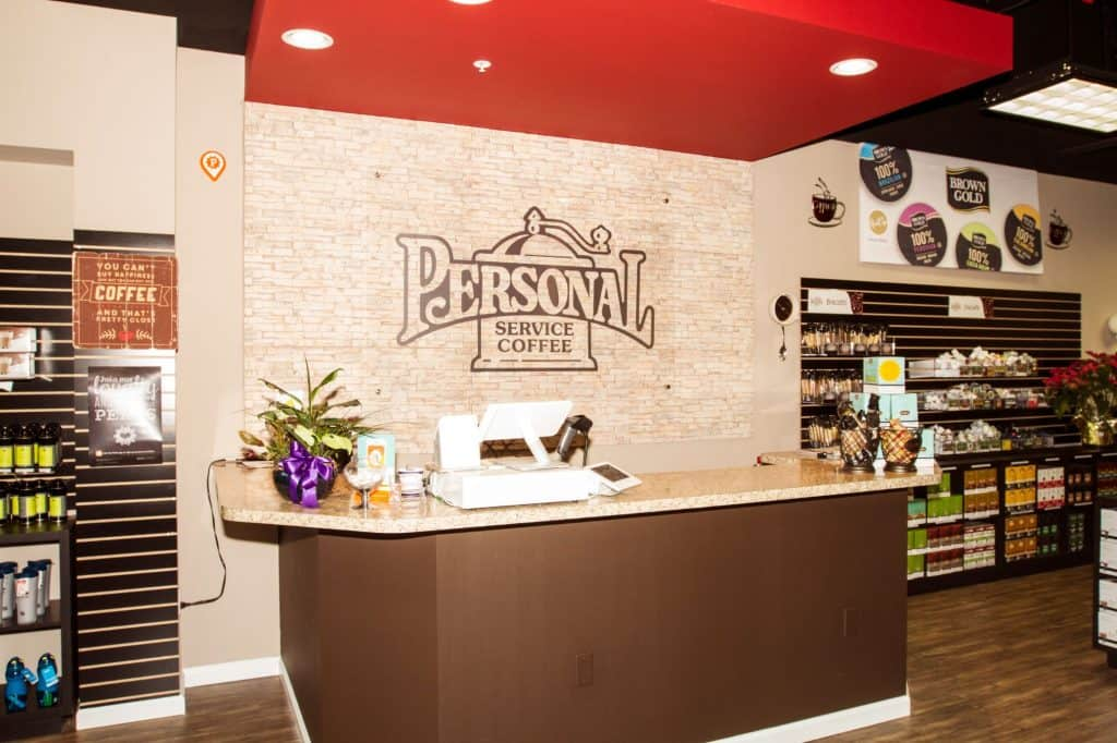Personal Service Coffee Front Desk